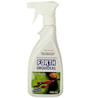 Fertilizante Líquido Orquídeas Manutenção com Pulverizador - 500 ml
