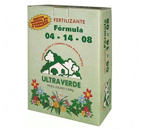 Fertilizante Fórmula 04-14-08 - 1 kg