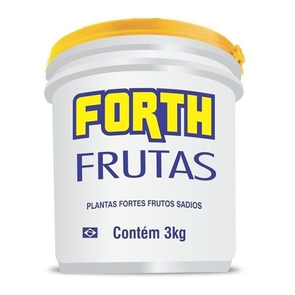 Fertilizante Forth Frutas - 3 kg