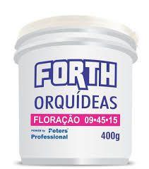Fertilizante Forth Orquídeas 09.45.15 Floração - 400 g