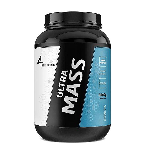 Ultra Mass 3kg Hiper-calórico 4Gains Nutrition
