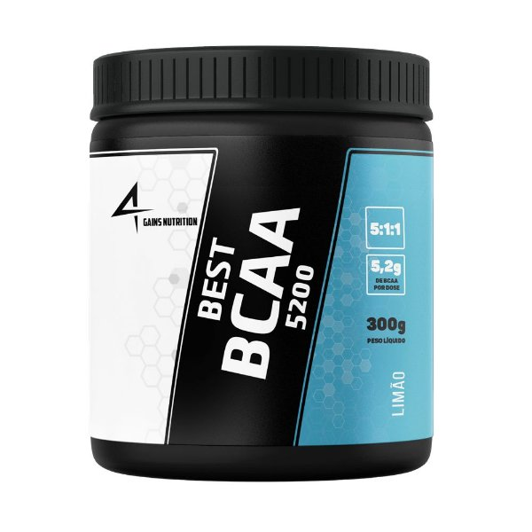 Best BCAA 5200 300g 4Gains Nutrition