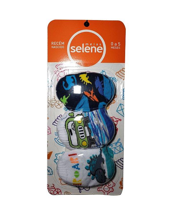 Meias Selene - Pacote com 3 pares - Ref.: 1030001