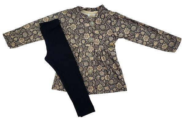 Conjunto casaco e legin - Alekids - Ref.: 180300