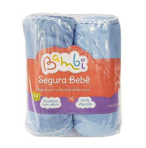 Segura bebê azul ajustável c/ velcro - Bambi - Ref.: 0200310002