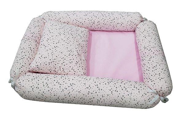 Ninho Redutor rosa de estrelinhas - Medina - Ref.: 8893