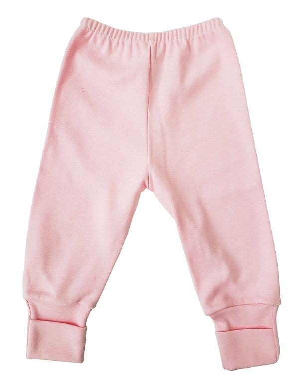 Mijão rosa pé reversível - Carolina Baby - Ref.: 09126
