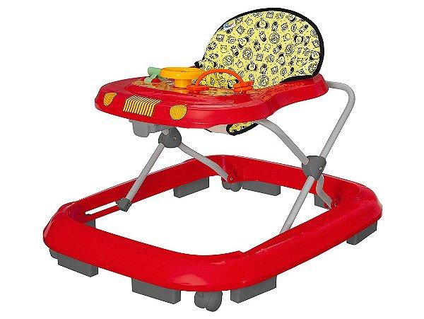 Andador Safari Vermelho - Tutti Baby - Ref.: