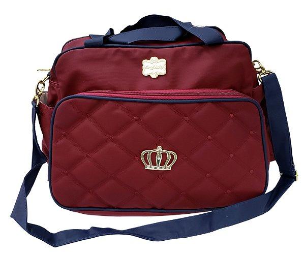 Bolsa Vermelha - Classic Coroa - Griff Baby - Ref.: 3013