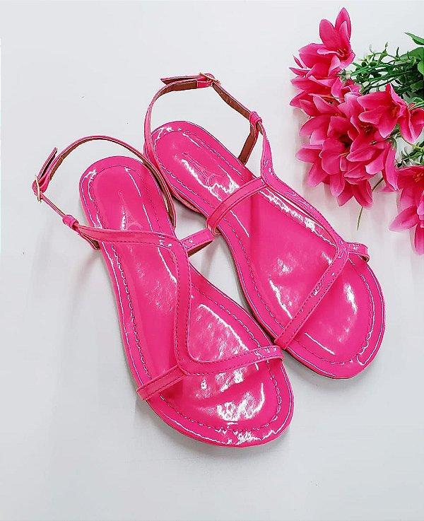 Rasteirinha Neon Pink