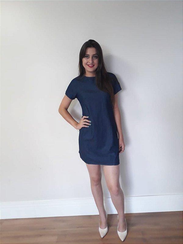 Vestido Curto Jeans