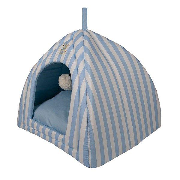 Cama Pet Cabana R0119 Azul Claro Woof Classic Tam Único