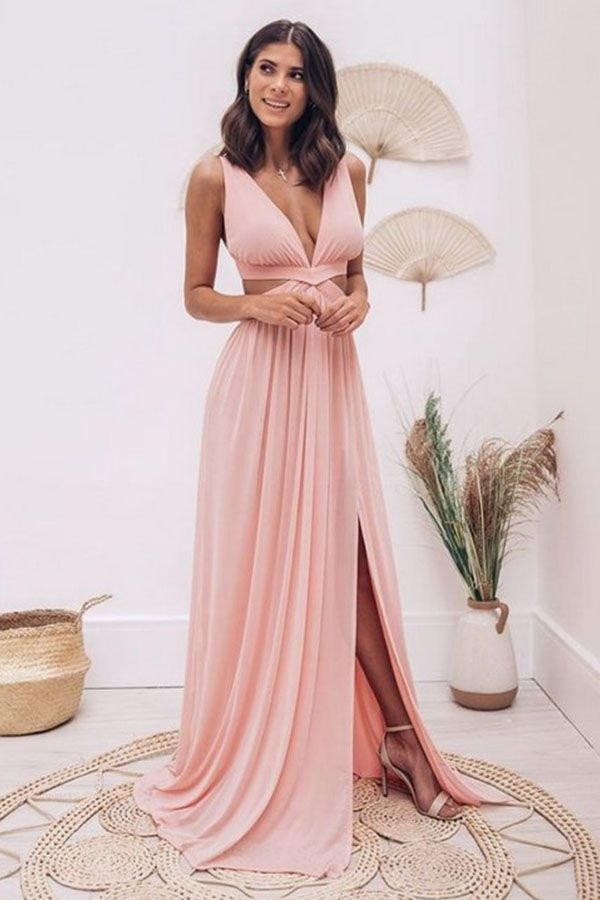 Vestido Mônaco Rosa