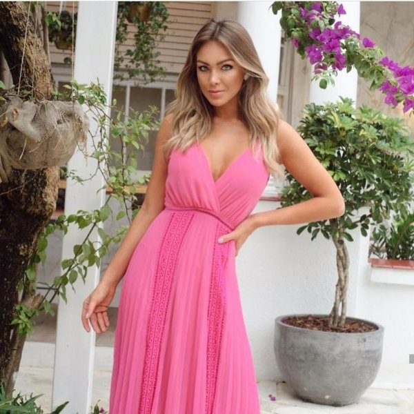 Vestido Del Pink