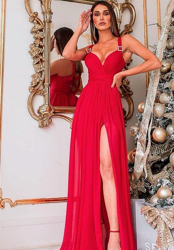 Vestido Serena Vermelho