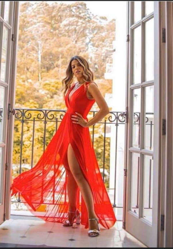 Vestido Hotpants Vermelho
