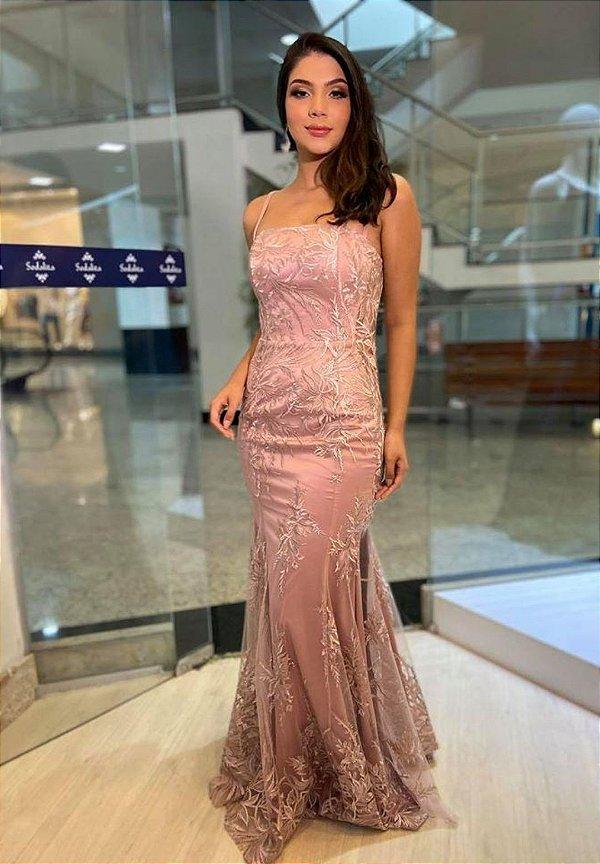 Vestido Romana Rosa
