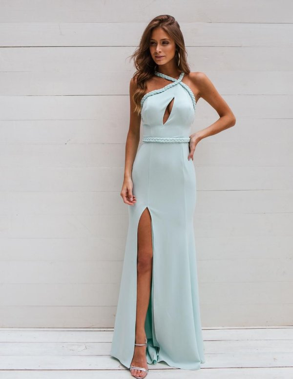Vestido Trança Tiffany