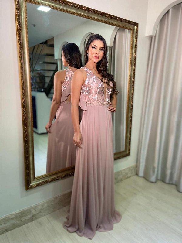 Vestido Petúnia Rose