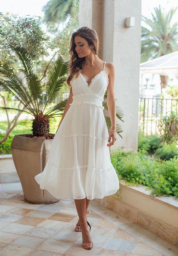 Vestido Iza Off-white