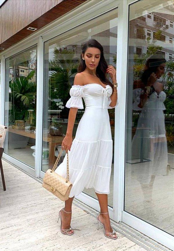 Vestido Mel Off-White