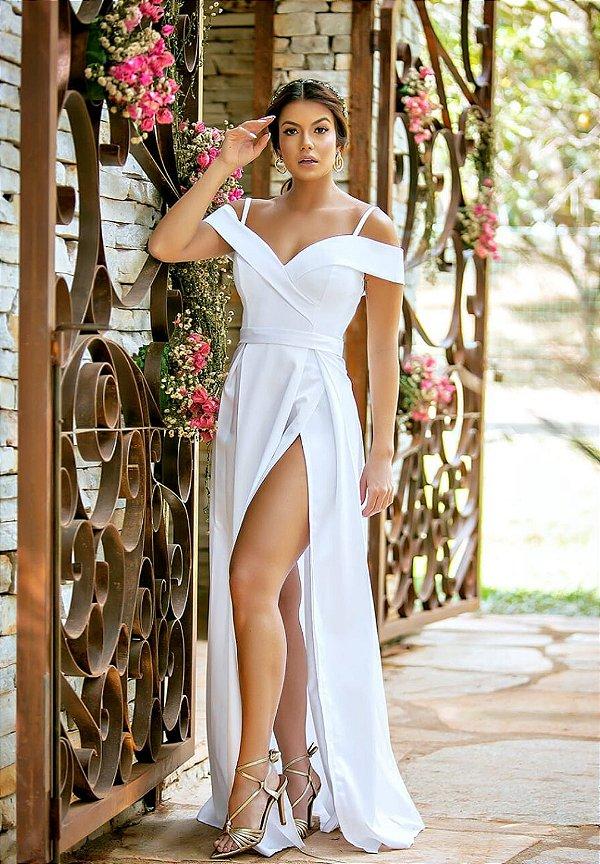 Vestido Merlyn Branco