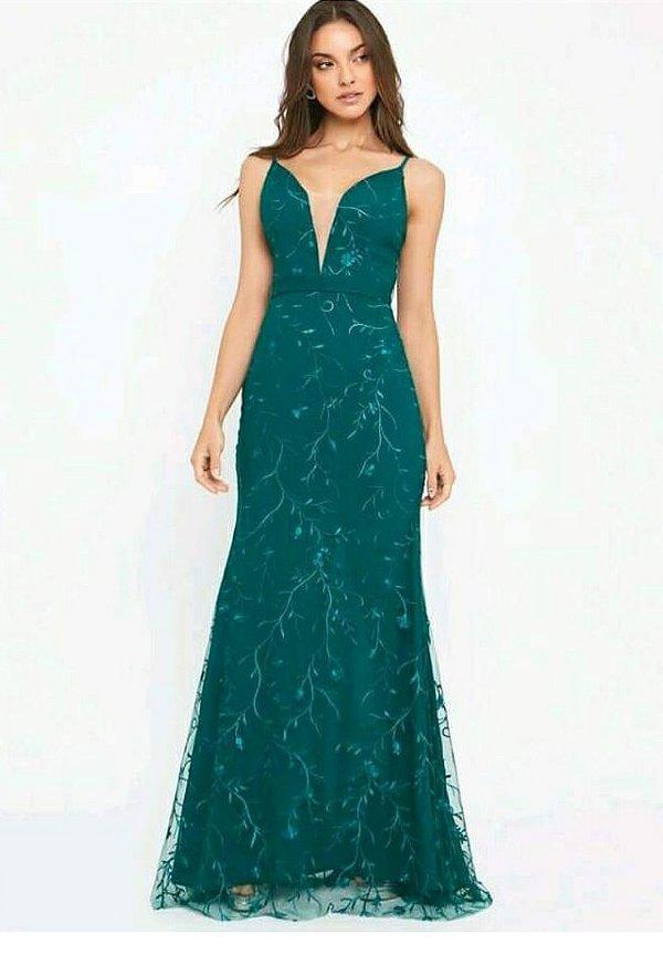 Vestido Enrika Verde