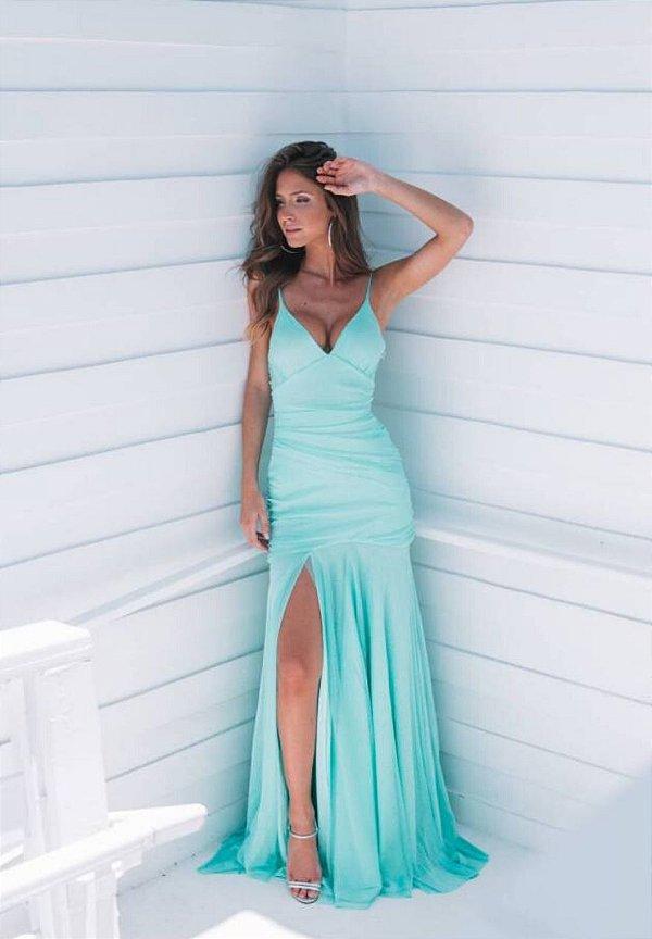 Vestido Hollywood Lurex Tiffany