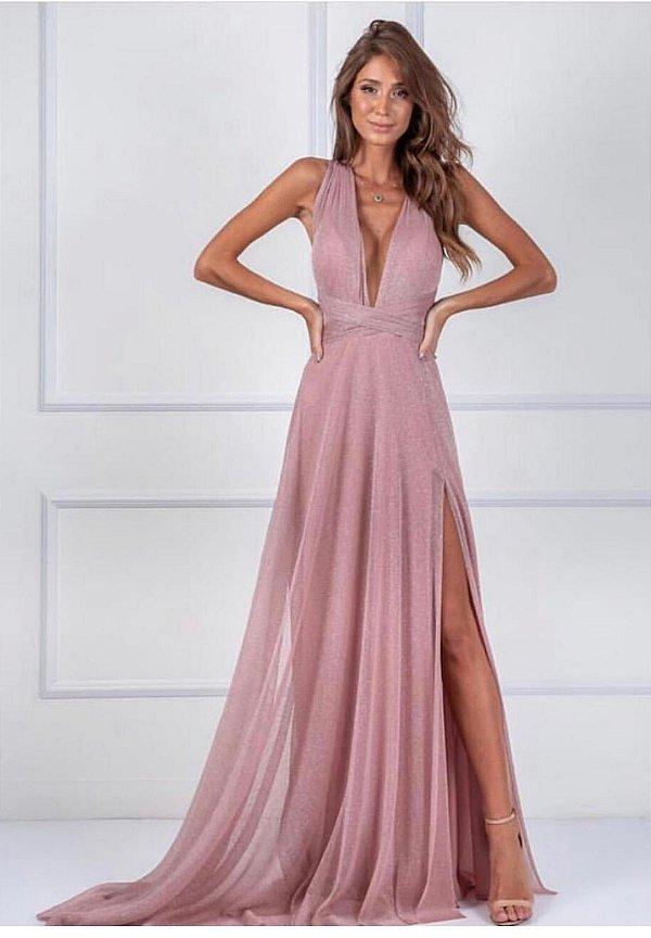 Vestido Mil Formas Rio Rosa