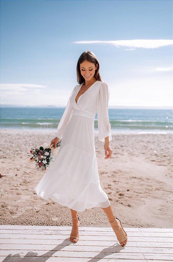 Vestido Karen Off-White