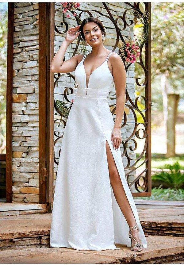 Vestido Elizabeth Branco