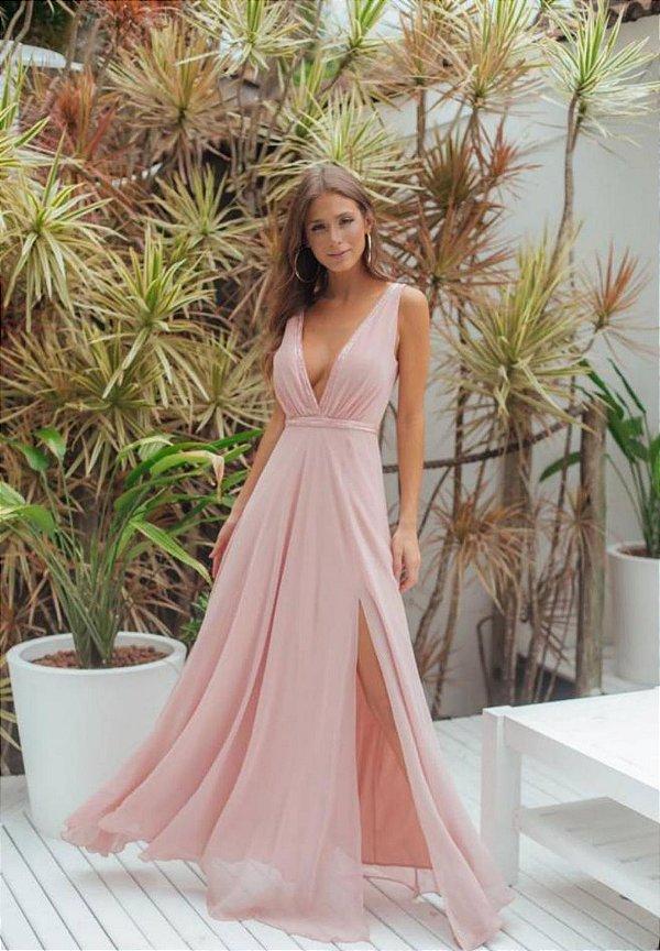 Vestido Taylor Rosa