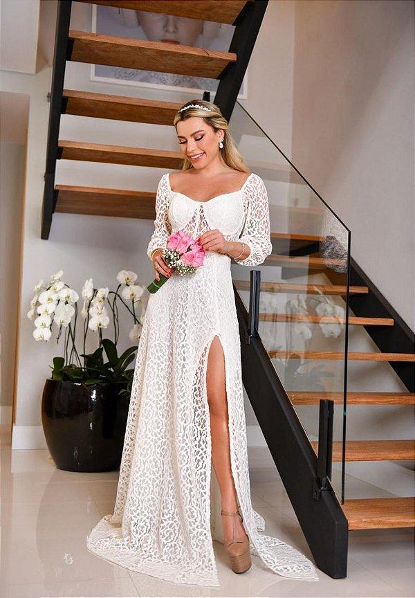 Vestido Livia Branco