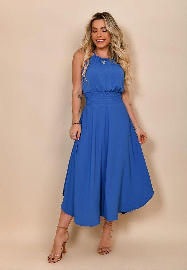 Vestido Amélia Azul