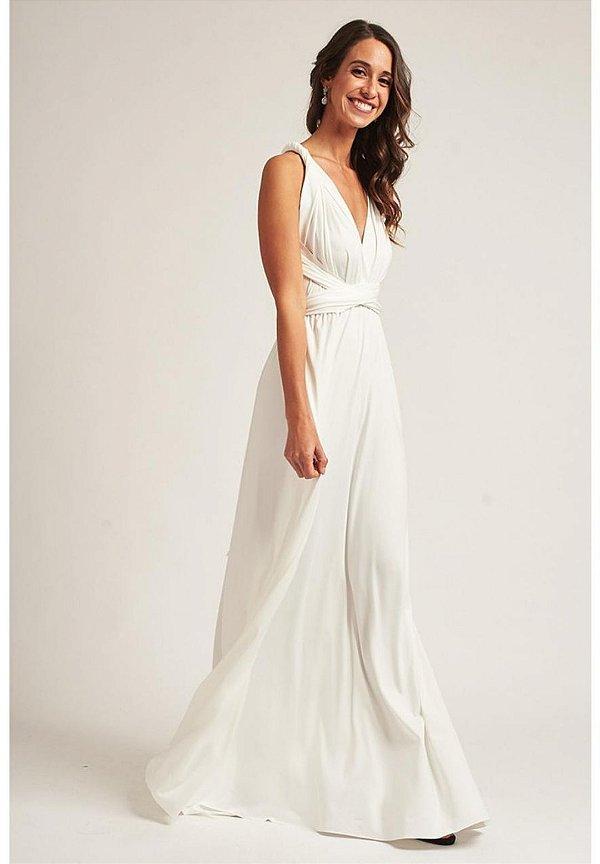Vestido Mil Formas Branco