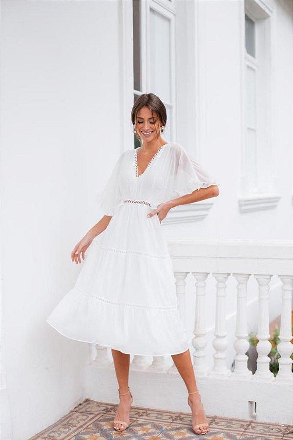 Vestido Emília Off-White