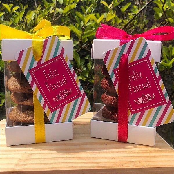 Caixa para Biscoitos (6,5x6,5x10 cm) Pct c/20 un