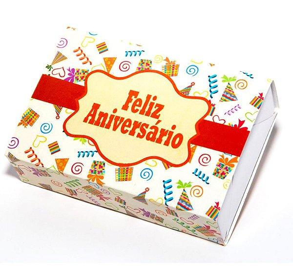 Caixa Temática - Feliz Aniversário c/10 unidades