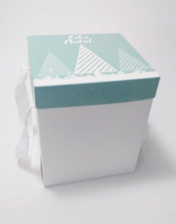 Caixa Panetone Personalizada (quantidade 100 unidades)