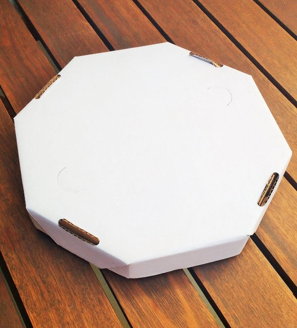 Caixa Pizza Brownie - Pct c/ 20 unidades
