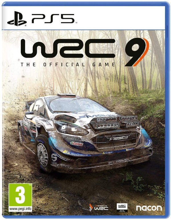 Game WRC 9 The Official Game - PS5