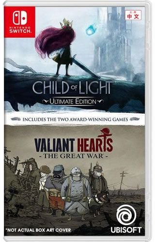 Game Child of Light Ultimate Edition & Valiant Hearts - Switch
