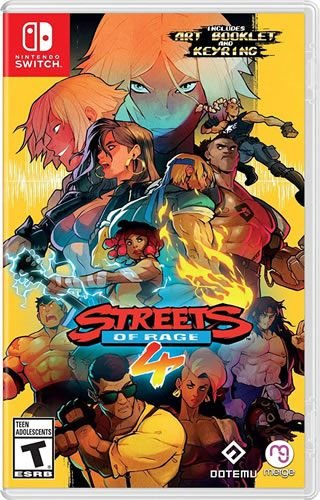Game Streets of Rage 4 - Switch