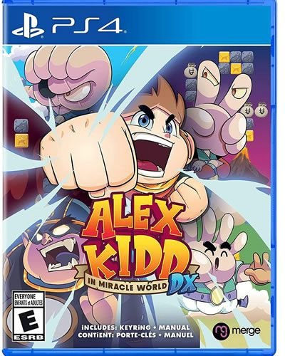 Game Alex Kidd In Miracle World DX - PS4 Upgrade PS5