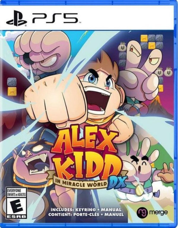 Game Alex Kidd In Miracle World DX - PS5