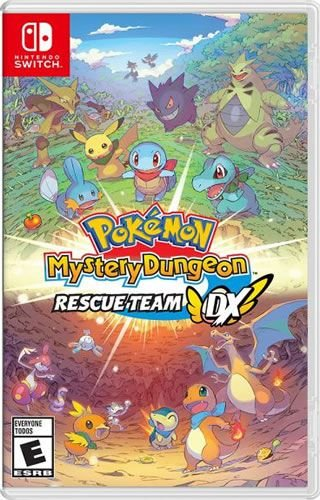 Game Pokémon Mystery Dungeon Rescue Team DX - Switch