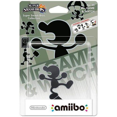 Amiibo MR Game & Watch Super Smash Bros Series - Nintendo