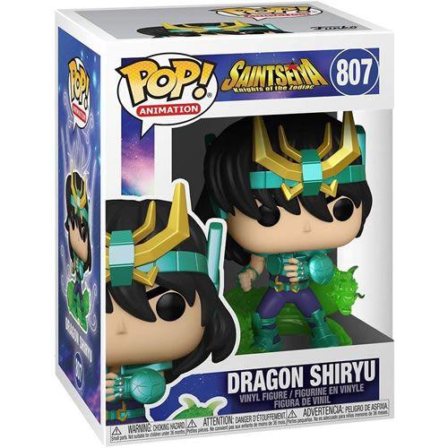 Pop! Cavaleiros do Zodiaco Dragon Shiryu - Funko