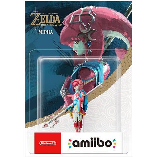 Amiibo Mipha The Legend of Zelda Breath of The Wild - Nintendo