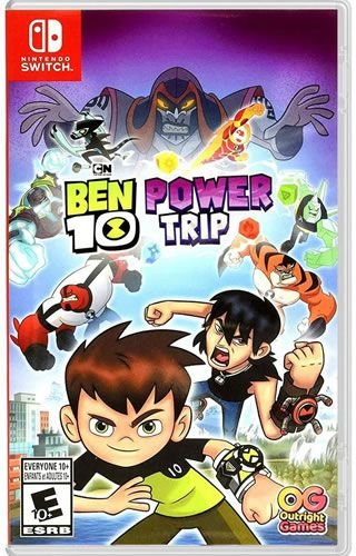 Game Ben 10 Power Trip - Switch